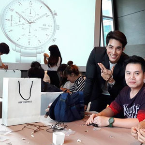 ISSEY Miyake Watch - Leather Bracelet DIY Workshop for VIP Customers